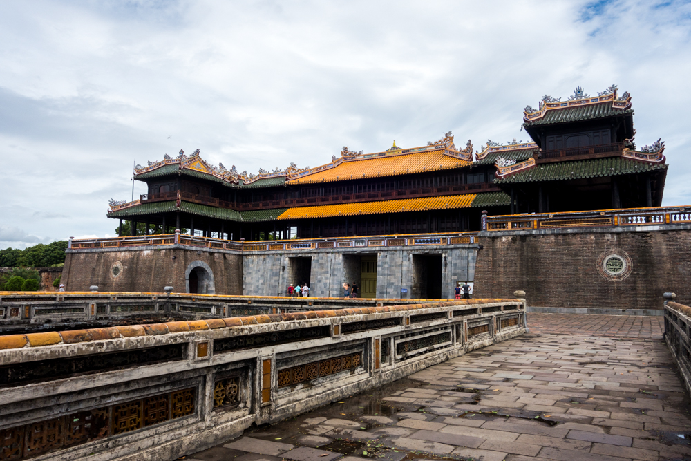 Outer gates o the walled imperial city.