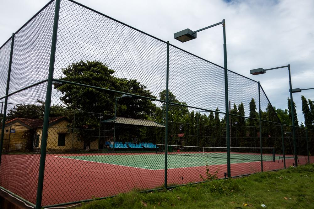 Centuries-old tennis court?