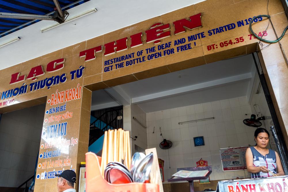Lac Thien restaurant.